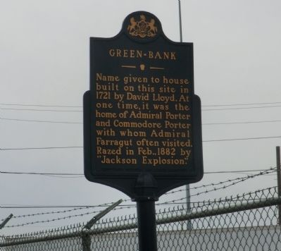 Green-Bank Marker image. Click for full size.