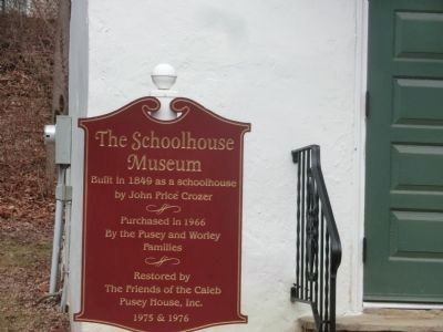 The Schoolhouse Museum Marker image. Click for full size.
