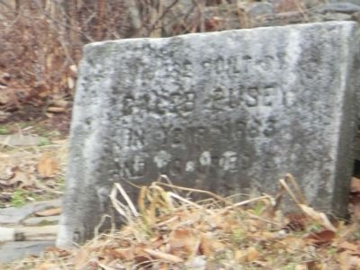 Stone marker-House Built by Caleb Pusey in year of 1683 image. Click for full size.