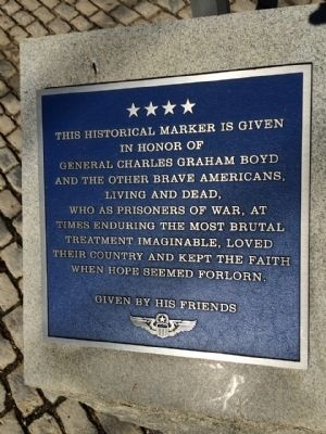 General Charles Graham Boyd Marker image. Click for full size.