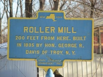 Roller Mill Marker image. Click for full size.
