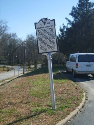 Belton Academy / Central School Marker<b>Front<b> image. Click for full size.