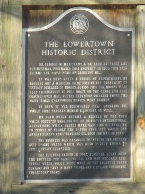 The Lowertown Historic District Marker image. Click for full size.
