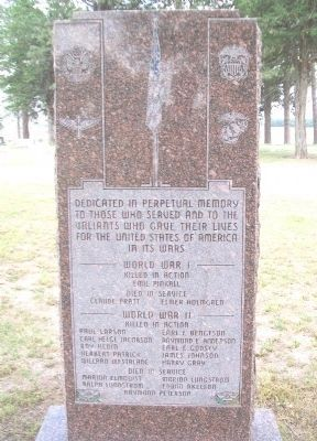 War Memorial (Side A) image. Click for full size.