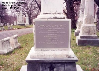 Commodore David Porter Marker image. Click for full size.