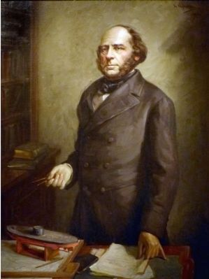 John Ericsson<br>1803&#8211;1889 image. Click for full size.