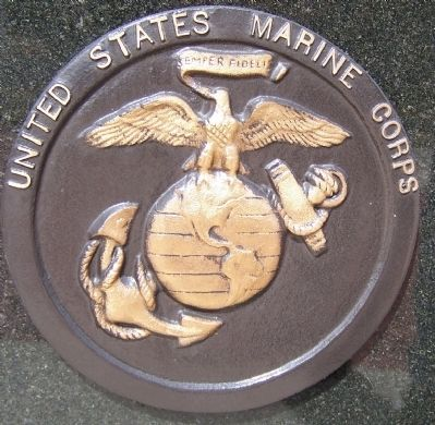 Marine Corps logo image. Click for full size.