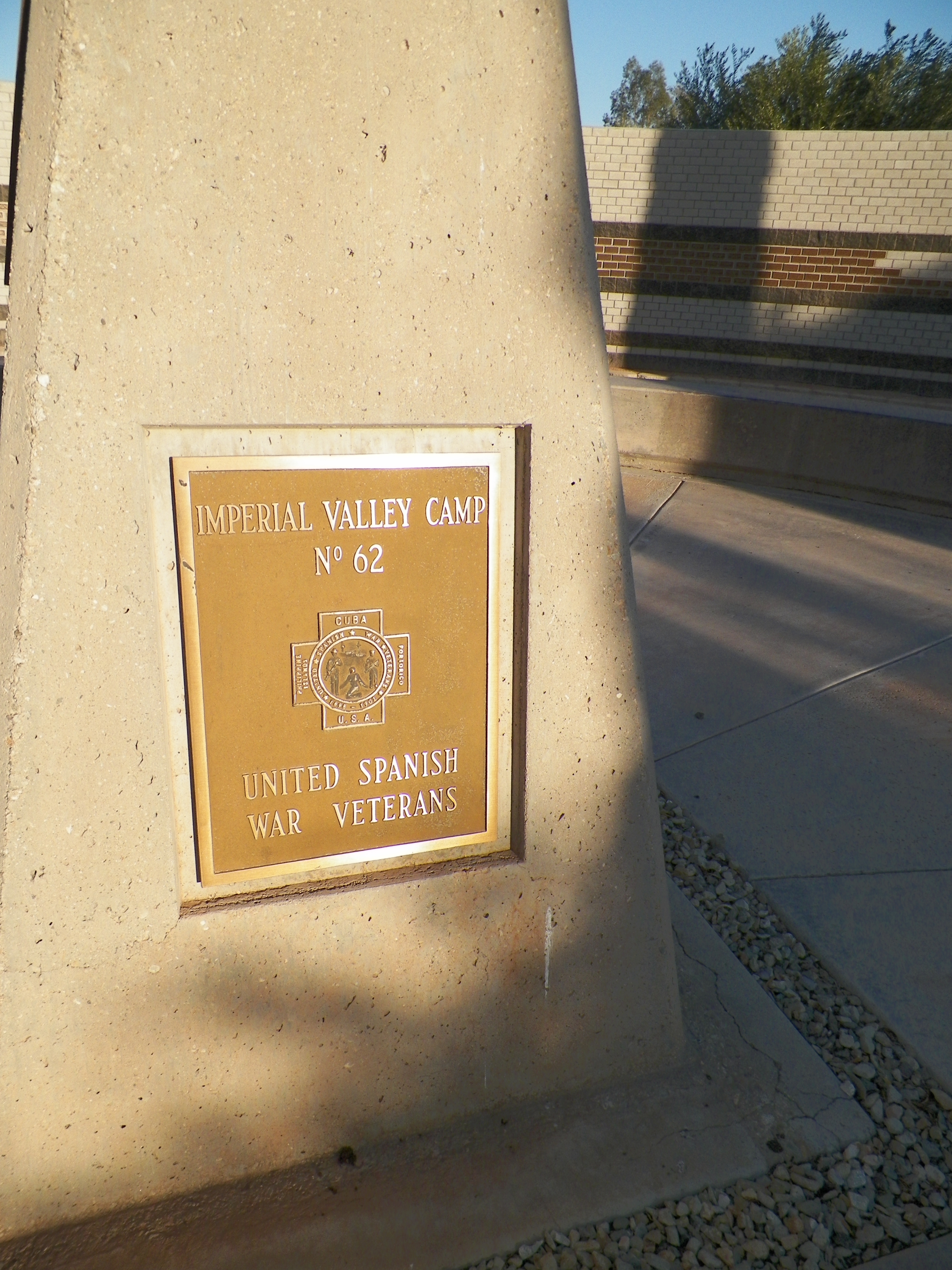 Imperial Valley Camp No.62<br>United Spanish War Veterans