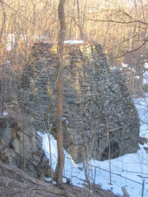 Clinton Iron Furnace Ruins. image. Click for full size.