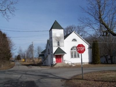 old Middleburg United Methodist Church image. Click for full size.