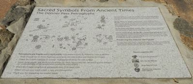Sacred Symbols From Ancient Times Marker image. Click for full size.