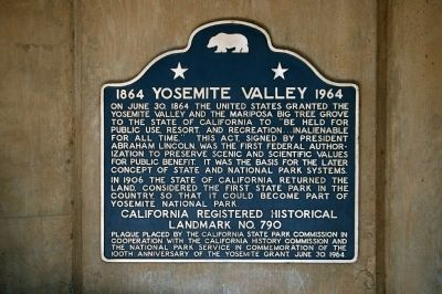 Yosemite Valley Marker image. Click for full size.