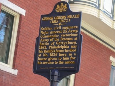 George Gordon Meade Marker image. Click for full size.