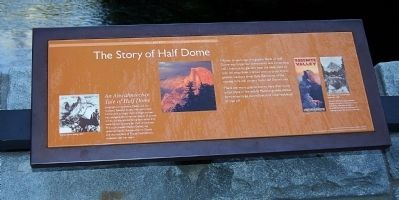 The Story of Half Dome Marker image. Click for full size.