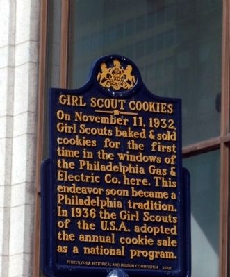 Girl Scout Cookies Marker image. Click for full size.