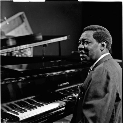"Otis Spann: ""Otis Blues"" image. Click for full size."
