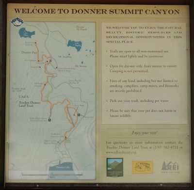 Welcome to Donner Summit Canyon image. Click for full size.