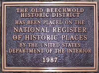Beechwald Pillars Marker image. Click for full size.