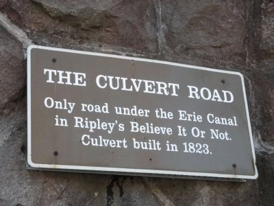 The Culvert Road Marker image. Click for full size.