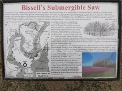 Bissell's Submergible Saw Marker image. Click for full size.