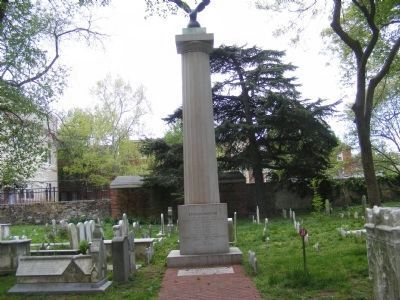 Stephen Decatur Grave Marker image. Click for full size.