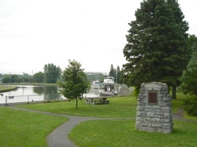 Chambly Canal Marker image. Click for full size.