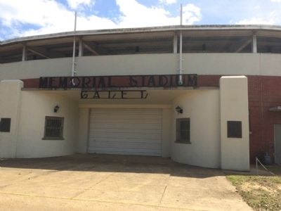 Memorial Stadium in Selma image. Click for full size.