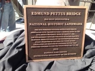 Edmund Pettus Bridge Marker image. Click for full size.
