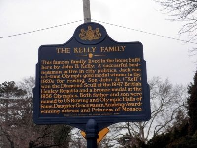 The Kelly Family Marker image. Click for full size.