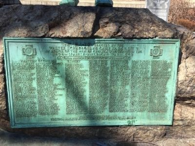 Chelsea Spanish American War Memorial image. Click for full size.