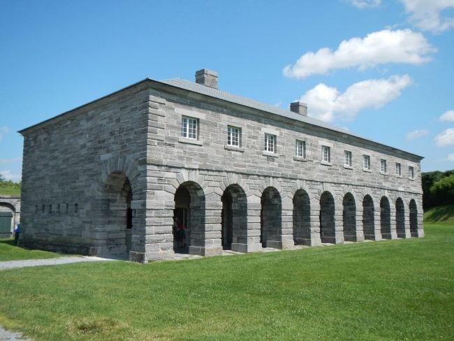 Fort Lennox image. Click for full size.