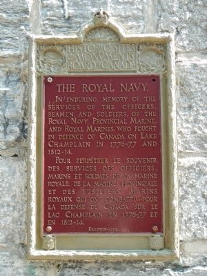 The Royal Navy Marker image. Click for full size.