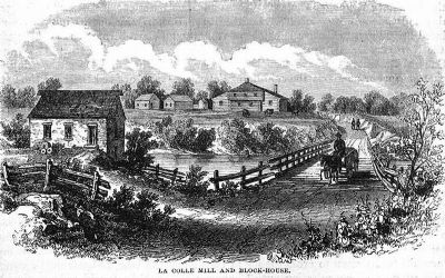 Lacolle Mill and Blockhouse image. Click for full size.
