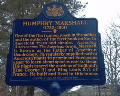 Humphry Marshall Marker image. Click for full size.