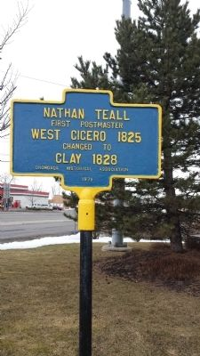 Nathan Teall Marker image. Click for full size.