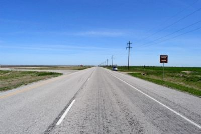 View to the North on Northbound Lanes of US 277 image. Click for full size.