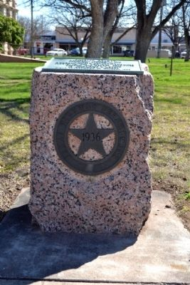 Haskell County Marker image. Click for full size.