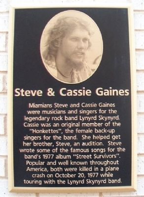 Steve & Cassie Gaines Marker image. Click for full size.