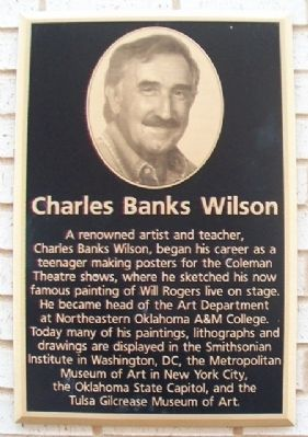Charles Banks Wilson Marker image. Click for full size.
