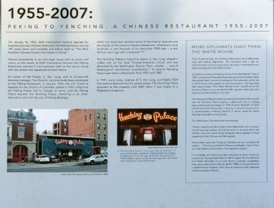 3524 Connecticut Avenue, N.W. Marker (1955-2007) image. Click for full size.