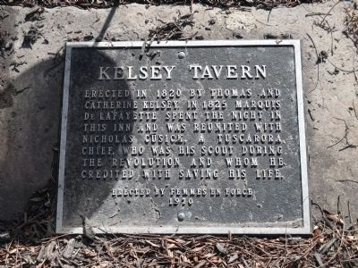 Kelsey Tavern Marker image. Click for full size.