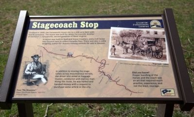 Stagecoach Stop Marker image. Click for full size.