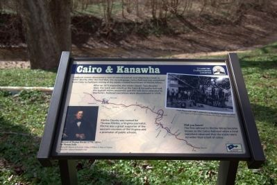 Cairo & Kanawha Marker image. Click for full size.