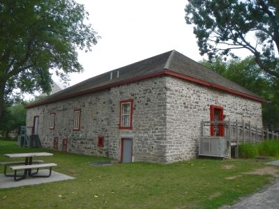 The Fur Trade at Lachine Visitors Centre image. Click for full size.