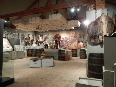 The Fur Trade at Lachine museum image. Click for full size.