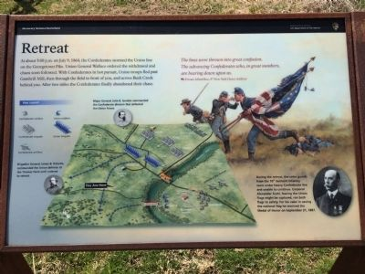 Retreat Marker image. Click for full size.