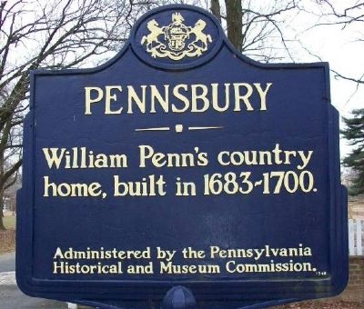 Pennsbury Marker image. Click for full size.