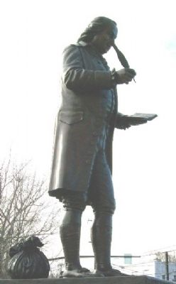 Robert Morris Statue image. Click for full size.