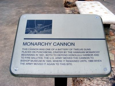 Monarchy Cannon Marker image. Click for full size.