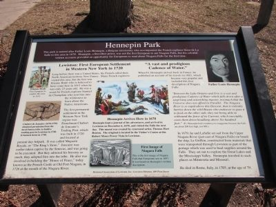 Hennepin Park Marker image. Click for full size.